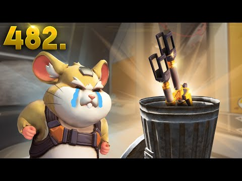 No Golden Weapon for Hammond!! | Overwatch Daily Moments Ep.482 (Funny and Random Moments)