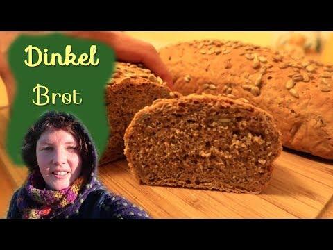 Dinkel Brot Rezept │ Einfaches Bio🌸🍞💚 Dinkel Hefe Brot
