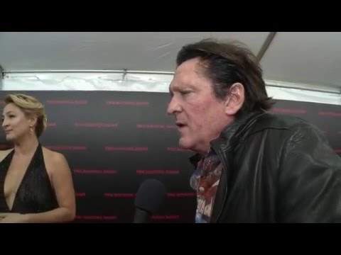 "The Hateful Eight: Michael Madsen ""Joe Gage"" NYC Red Carpet Interview"