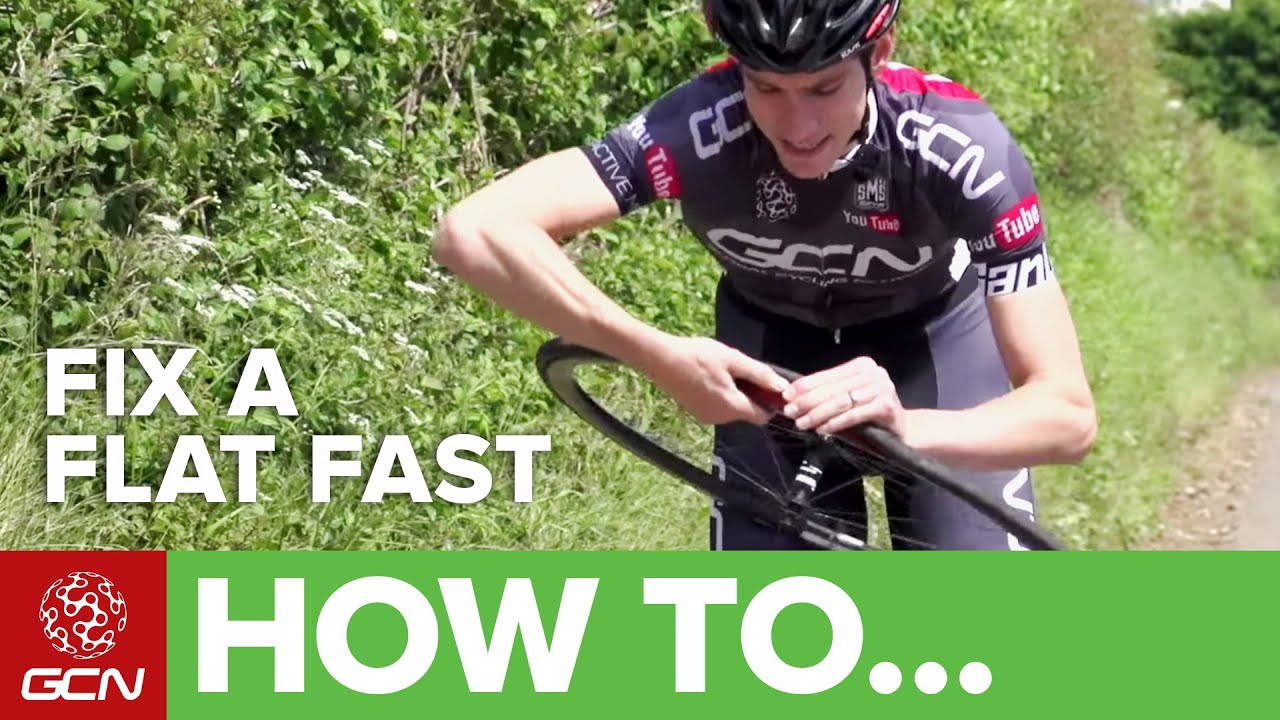 4fa0ef0e6e1 Fix A Flat Fast – How To Change An Inner Tube In Record Time - YouTube