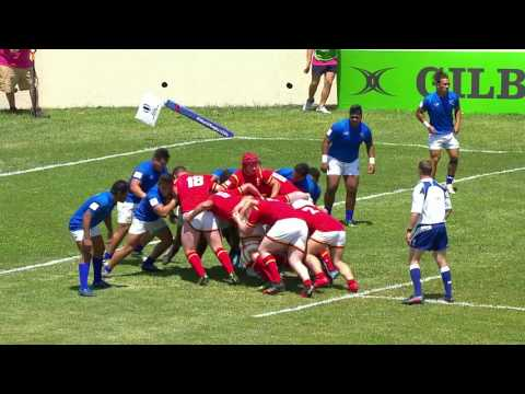 U20 Highlights: Wales score eight tries against Samoa