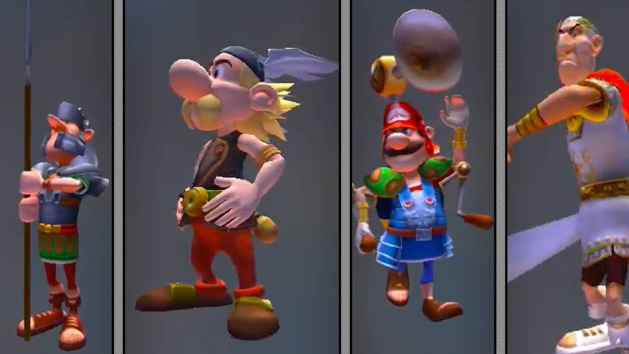 How To Unlock All Figures In Asterix And Obelix Xxl 2 Remastered