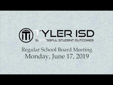 School Board Meeting 6 17 19