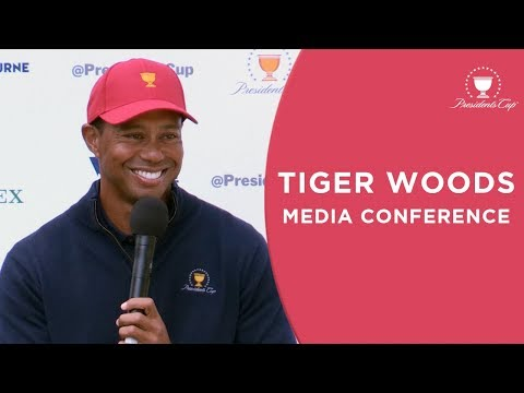 Tiger Woods | Media Conference in Melbourne | 2019 Presidents Cup