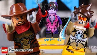 LEGO Overwatch STOP MOTION #LEGO Team Deathmatch: Soldier 76 | LEGO Overwatch | By Billy Bricks