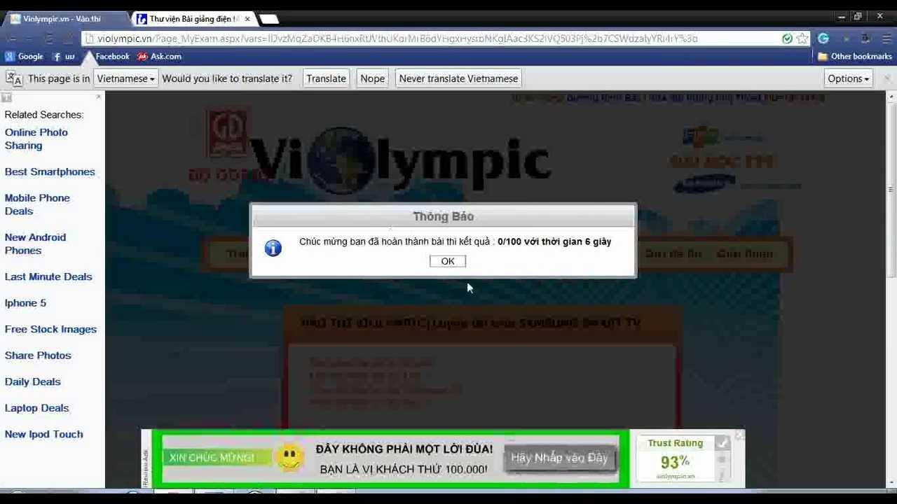 hướng dẫn hack violympic 2013