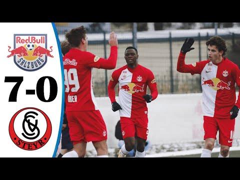 Download Red Bull Salzburg vs Vorwarts Steyr 7-0 All Goals & HIghlights 25/03/2021 HD