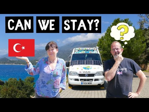 We've arrived in MUGLA Turkey - Will they let us stay? Adventure VAN LIFE