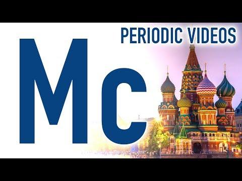 Moscovium - Periodic Table of Videos