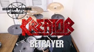 Kreator - betrayer drum cover