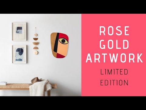 Rose Gold Artwork