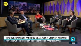 Así reaccionaron los congresistas ante la cuestión de confianza que planteará Martín Vizcarra