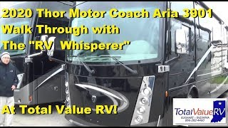 2020 Thor Motor Coach Aria 3901 Walk thru with The RV Whisperer at Total Value RV!