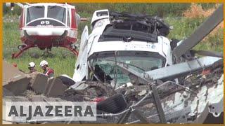 🇮🇹 Italy bridge collapse: Was the structure of the bridge unsafe? | Al Jazeeera English thumbnail