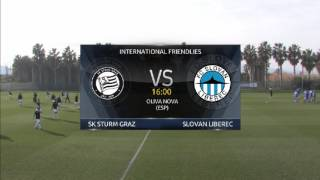Spielaufzeichnung: SK Sturm Graz 1: 1 Slovan Liberec (0:0)