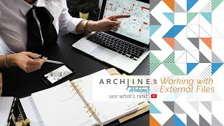 Working with External Files - ARCHLine.XP Webinar