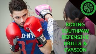 Boxing Southpaw against Orthodox Defensive Drills Tutorial