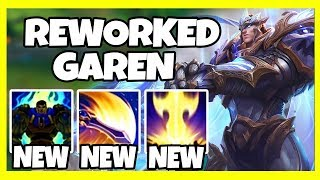 GAREN REWORK! E SCALES WITH AS AND ON HIT EFFECTS?! RIOT ARE YOU INSANE?! - League of Legends