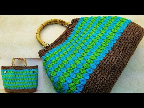 "Learn How To #Crochet  ""The Down To Earth"" Handbag Purse TUTORIAL #371 supersaver"