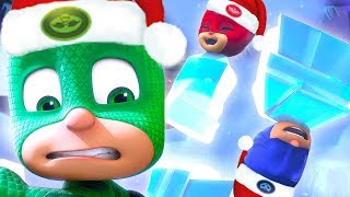 PJ Masks Episode | Gekko's Nice Ice Plan and more! ❄️Christmas Special ❄️ Cartoons for Kids
