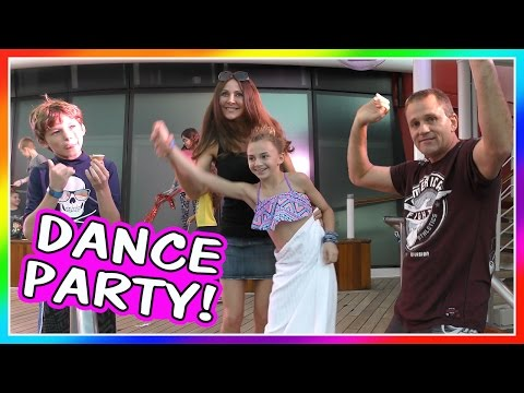 DISNEY CRUISE DANCE PARTY! | DAVISES VACATION | We Are The Davises