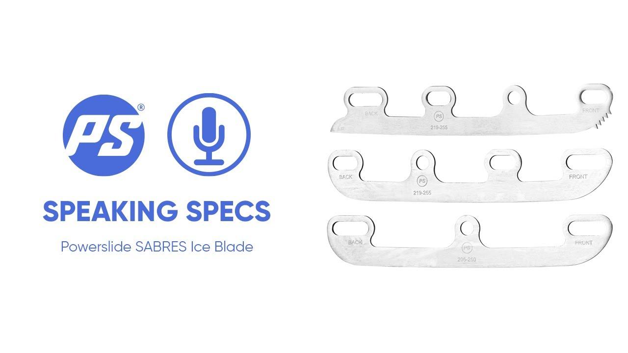 Powerslide Sabres Ice Blade - Speaking Specs