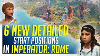 6 New Detailed Start Positions in Imperator: ROME - Gameplay