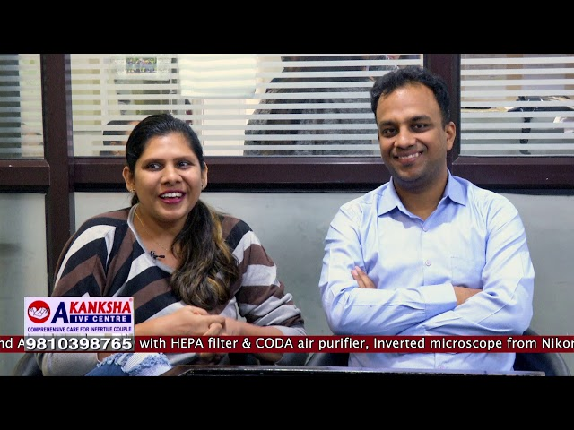 Best thought and Review IVF Patient Positive Result Akanksha IVF Centre...