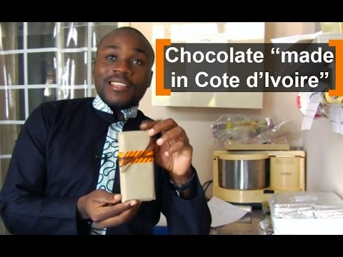"Cote d'Ivoire: chocolate ""made in Cote d'Ivoire"""