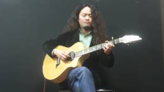Whitney Houston I Will Always Love You (fingerstyle solo guitar)