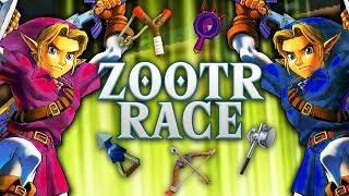 RANDOMIZED ZELDA: Ocarina of Time Race - Part 1 [ZOOTRR]