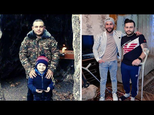 Ռուսաստանից եկած վիրավոր Արայիկը երազում է տեսնել որդուն ու ընտանիքին/ Մեր Հերոս Տղերքը! @Argamblog
