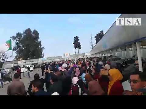 La grève et la manifestation des travailleurs de la Direction générale d'Algérie Télécom