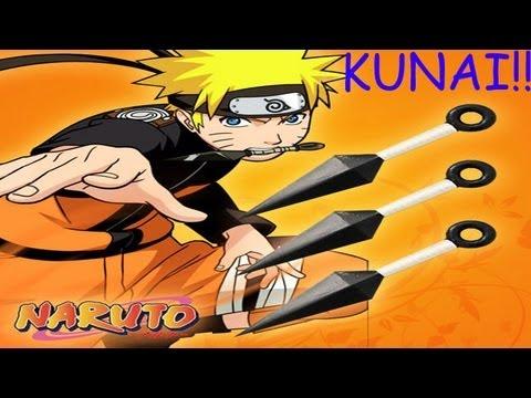 How to make a Paper Kunai Knife - (Naruto Kunai) | EASY | TUTORIAL ... | 360x480