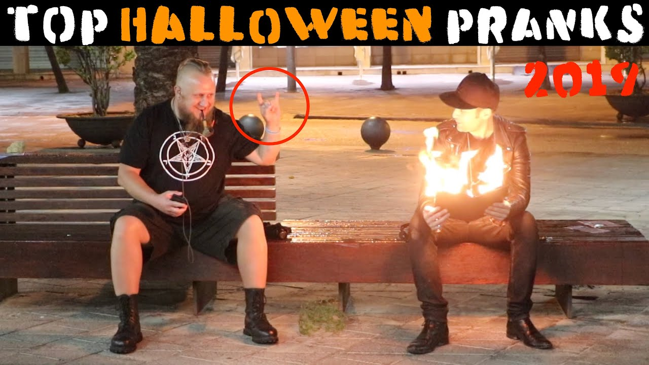 Most Scary Halloween Pranks 2019????????????-Julien Magic