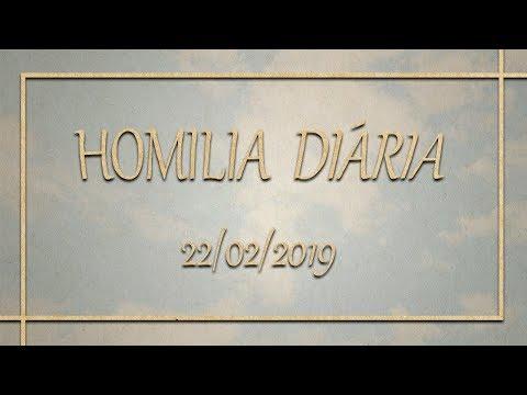 Homilia diária  22 de Fevereiro de 2019