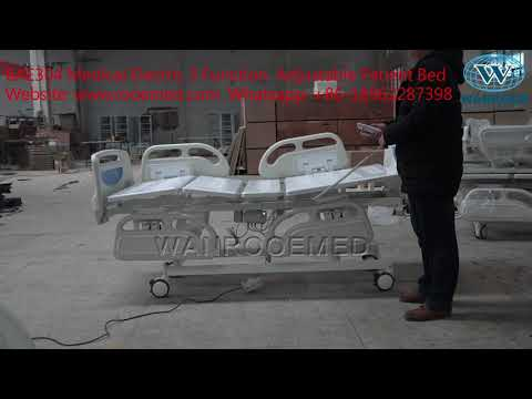 BAE304 Medical Equipment Electric 3 Function  Adjustable Patient Bed