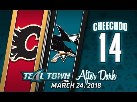 Teal Town After Dark (Postgame) Sharks vs Flames -  3/24/2018