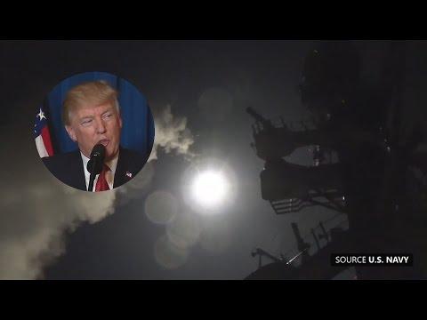 U.S. Strikes Syria, Trump Speaks (Apr. 6, 2017)