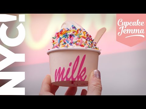 The Best Sweet Treats in NEW YORK CITY | Top 10 Bakeries to Visit  | Cupcake Jemma