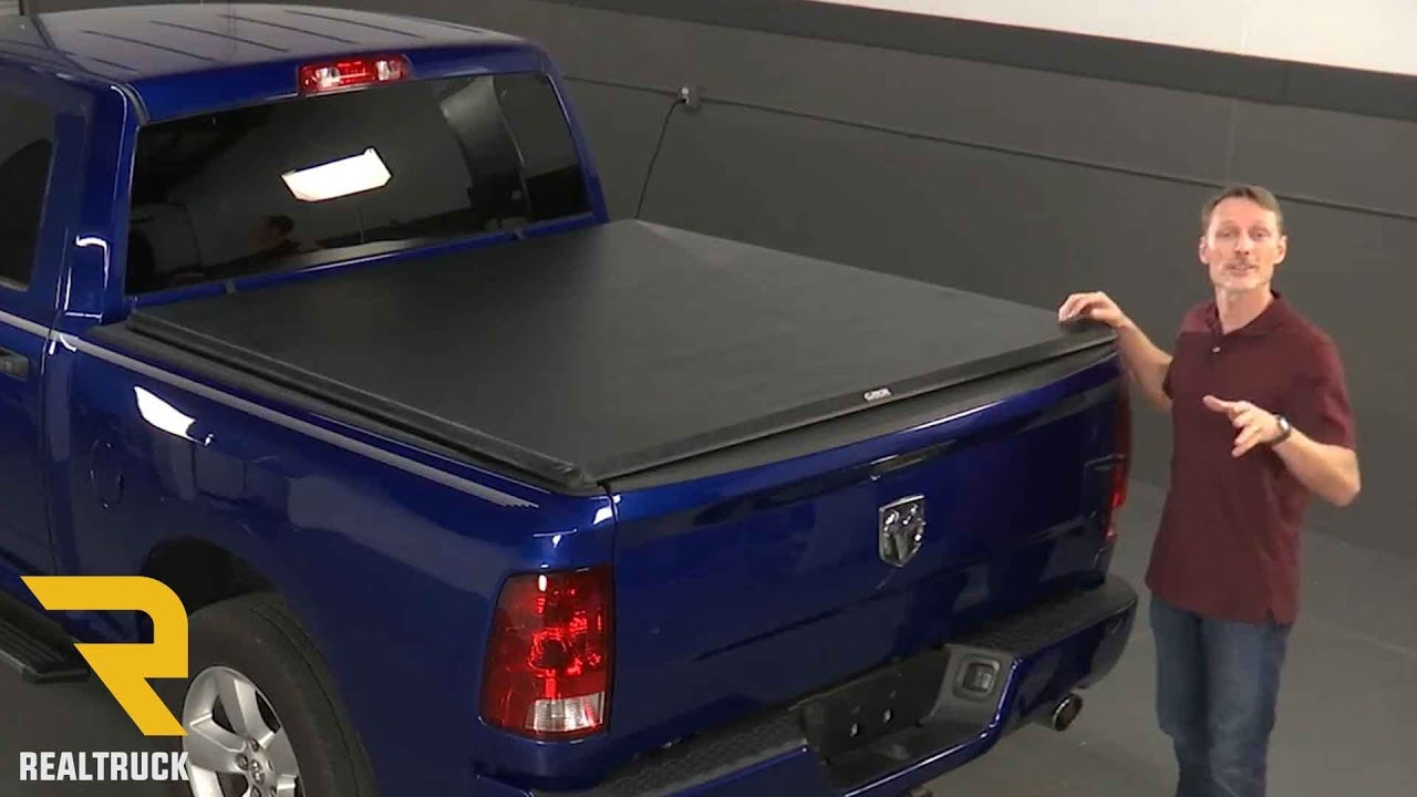 How To Install Gator Sr1 Roll Up Tonneau Cover On A 2009 Dodge Ram At Realtruck Com Youtube