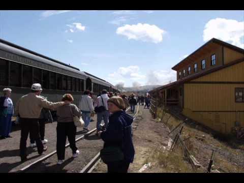 Cumbres Toltec & Scenic Railroad. Steam Railroad. Chama, NM New Mexico.