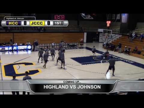 Highland Men's Basketball at Johnson County CC
