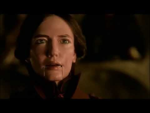 vanessa ives vs. lucifer in a crisscross of verbis diablo (season 2 finale scene)