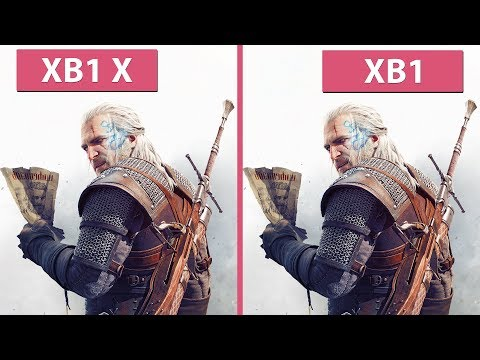 [4K] Witcher 3 –  Xbox One vs. Xbox One X 4K & 60 fps Modes Frame Rate Test & Graphics Comparison