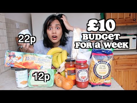 Living On £10 For A Week In LONDON | Clickfortaz