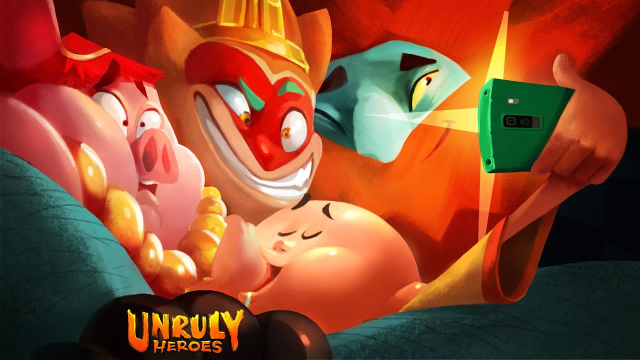 Unruly Heroes - Photo Mode in 2D video game