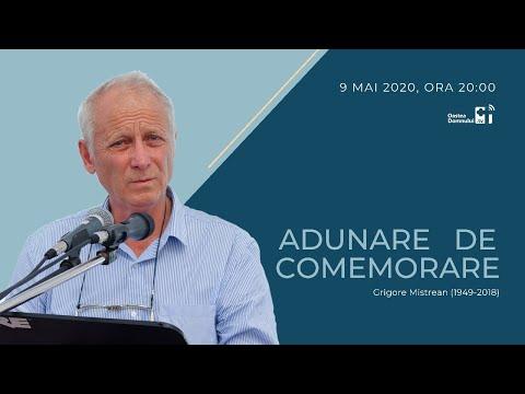 Oastea Domnului - Adunare De Comemorare Grigore Mistrean (9 Mai 2020) LIVE!