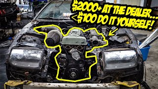 How To Do A $2000 Major Engine Service For LESS THAN $100 (Without Screwing Up)