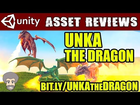 Unity Asset Reviews - Unka The Dragon